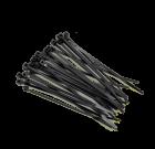 Хомут-стяжка- черн. 4.8х200