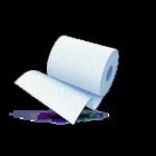 Протирочная бумага 2х-слойная Бирюзовая 33х35см., уп.2 рулона.