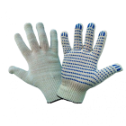Перчатки ХБ с ПВХ 4нит. 10 класс