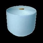 Протирочная бумага 2х-слойная синяя 23х35см., уп.2 рулона.
