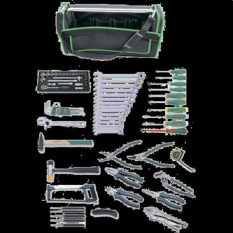 JONNESWAY C-HA78S Набор инструмента универсальный в сумке, 78 предметов (переносная сумка Tetoron®)