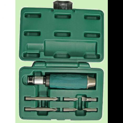 JONNESWAY AG010055A Ударная отвертка с битами SL 8,10 мм, PH# 2,3, 36 мм и PH# 2,3 80 мм, 10 предметов