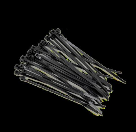 Хомут-стяжка- черн. 2.5х200
