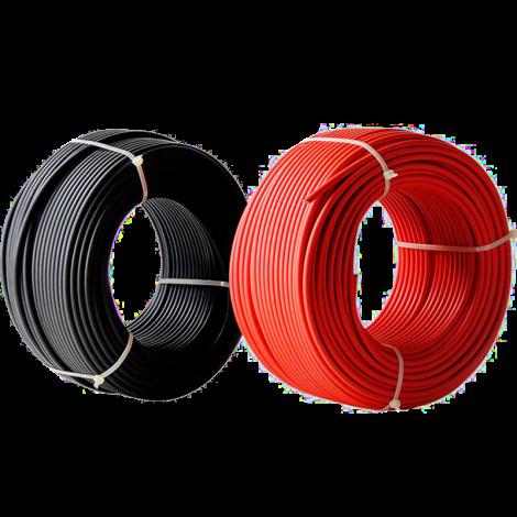 Провод одножильный (красный; черный) 1х1.0; 100м.