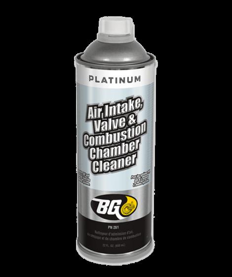 BG Platinum® Air Intake, Valve & Combustion Chamber Cleaner®