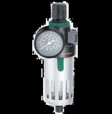 JAZ-0534 Фильтр-сепоратор с регулятором давления для пневматического инструмента 1/2