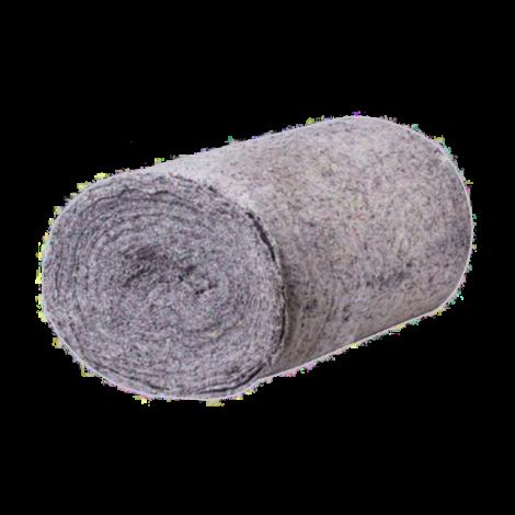 Холосто прошивное полотно, серое 1.5м х 50м