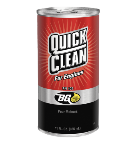 BG Quick Clean For Engines